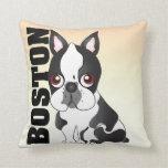 The Boston Terrier Pillow