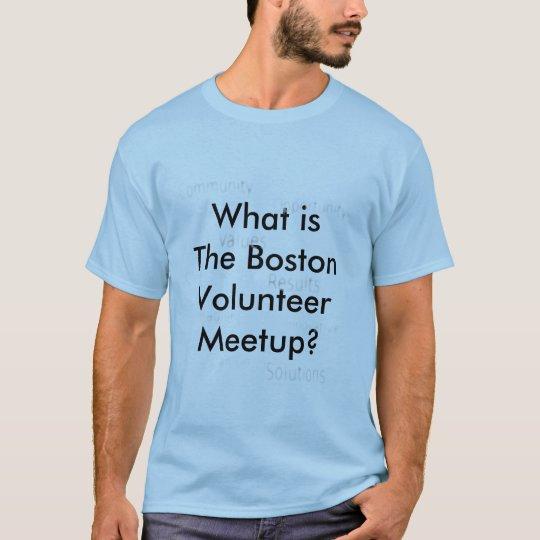 The Boston Volunteer T-shirt