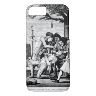 The Bostonian's Paying the Excise-Man_War image iPhone 7 Case