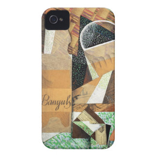 The Bottle of Banyuls, 1914 (gouache & collage) Case-Mate iPhone 4 Case
