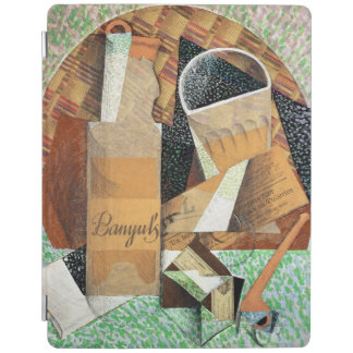 The Bottle of Banyuls, 1914 (gouache & collage) iPad Cover