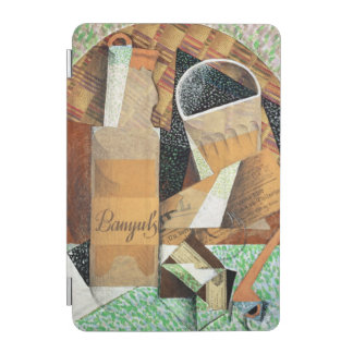 The Bottle of Banyuls, 1914 (gouache & collage) iPad Mini Cover