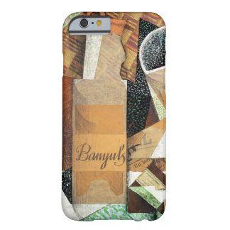 The Bottle of Banyuls, 1914 (gouache & collage) iPhone 6 Case