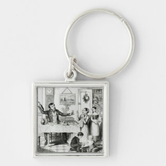 The Bottle, Plate I Key Chain