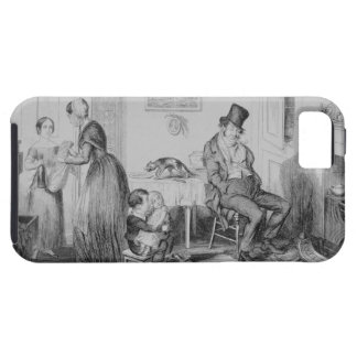 The Bottle, Plate II, He is discharged from his em iPhone SE/5/5s Case