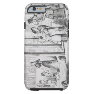 The Bottle, Plate IV, Unable to obtain employment, Tough iPhone 6 Case