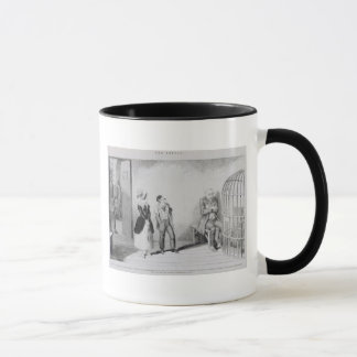 The Bottle, Plate VIII, The bottle has done its wo Mug