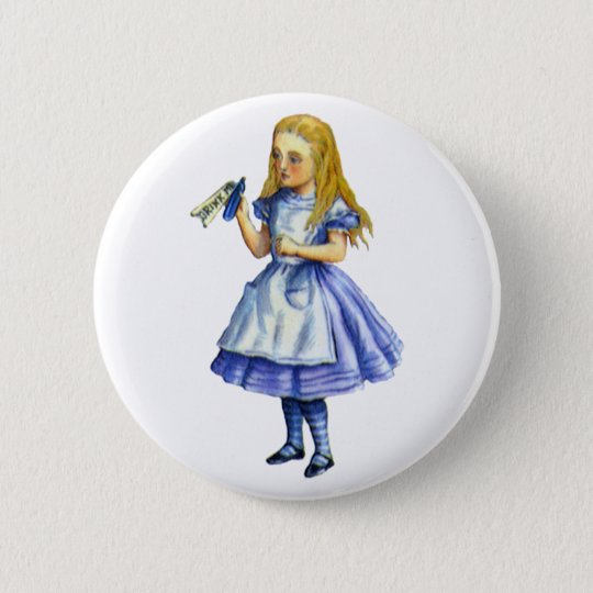 The Bottle Said Drink Me from Alice in Wonderland Pinback Button