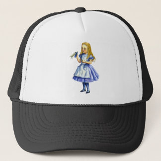 The Bottle Said Drink Me, So Alice Did Trucker Hat