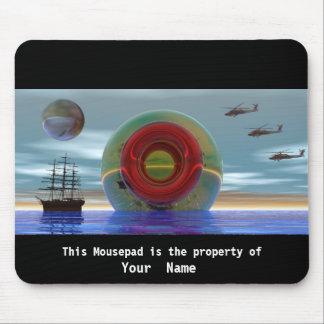 The Bottle Surreal Mousepad Mouse Pad