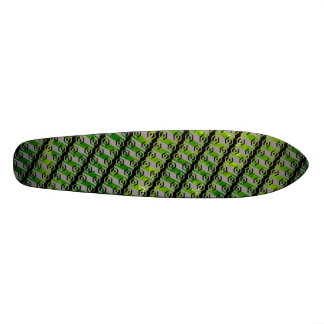 The Bottom of The Saucer Was Made of... Skateboard Decks