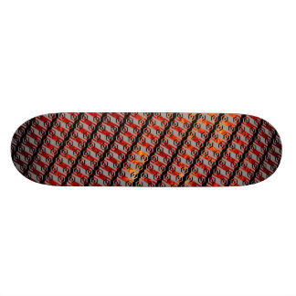 The Bottom of The Saucer Was Made of... Skateboard Deck