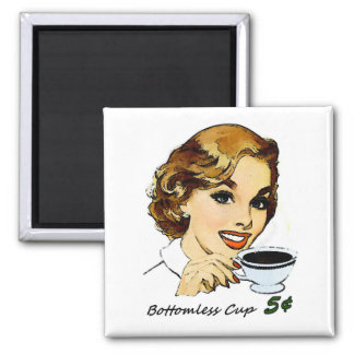 The Bottomless Cup Magnet