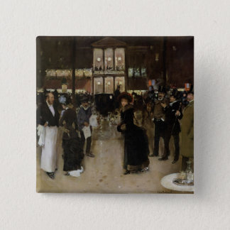 The Boulevard at Night Pinback Button
