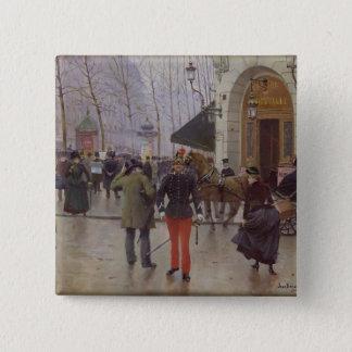 The Boulevard des Capucines Button