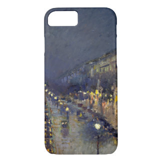 The Boulevard Montmartre at Night iPhone 7 Case