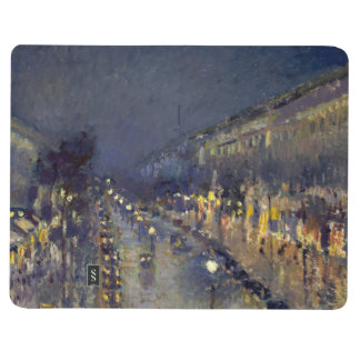 The Boulevard Montmartre at Night Journal
