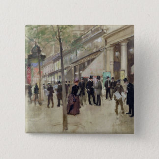 The Boulevard Montmartre Button