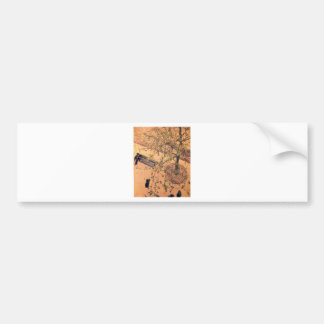 The Boulevard Viewed from Above by Gustave Car Bumper Sticker