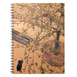 The Boulevard Viewed from Above by Gustave Notebook