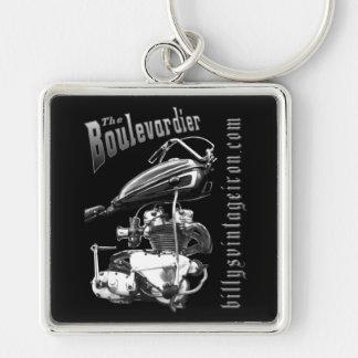 The Boulevardier (b & W) Keychain