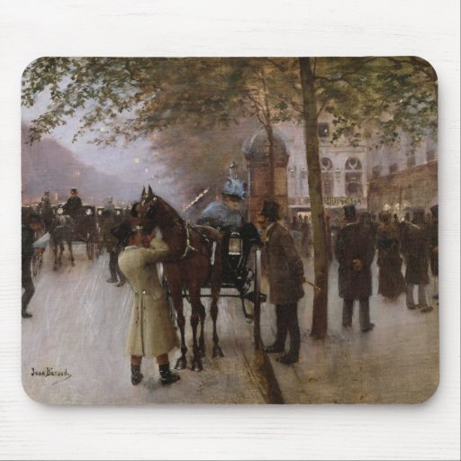 The Boulevards, Evening in Front of the Mouse Pad