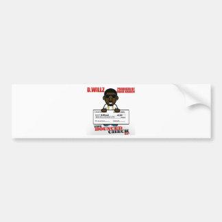 The Bounced Check EP Bumper Sticker Car Bumper Sticker