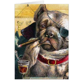 The Bouncer Dog Card