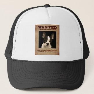 The Bouncy Boston Terrier Trucker Hat