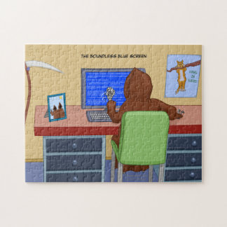 The Boundless Blue Screen Jigsaw Puzzle