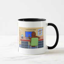 The Boundless Blue Screen Mug