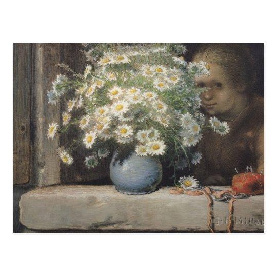 The Bouquet of Margueritas, 1866 Postcard