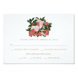 The Bouquet / RSVP Card