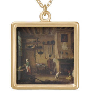 The Bourgeois Kitchen Gold Plated Necklace