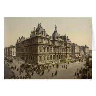 The Bourse, Lyon, France Card
