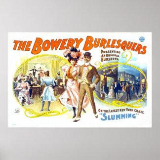 The Bowery Burlesquers, Slumming Poster
