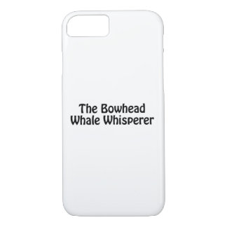 the bowhead whale whisperer iPhone 8/7 case