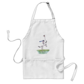 the bowler - cricket, tony fernandes adult apron