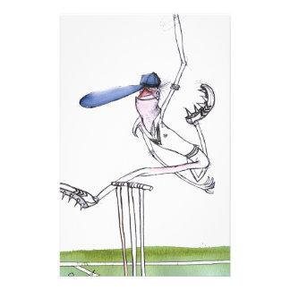 the bowler - cricket, tony fernandes stationery