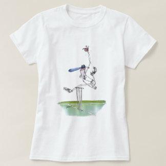 the bowler - cricket, tony fernandes T-Shirt