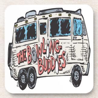 The Bowling Buddies Coaster