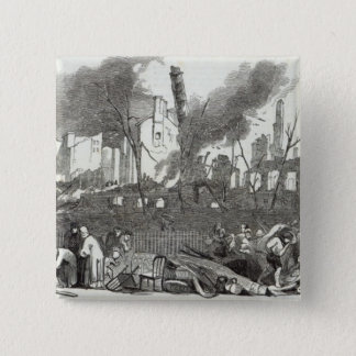 The Bowling-green and Marketfield-street, New Pinback Button