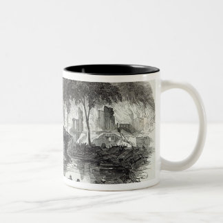 The Bowling-green and Marketfield-street, New Two-Tone Coffee Mug