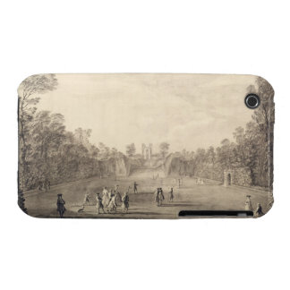 The Bowling Green at Claremont, 1738 (engraving) iPhone 3 Cover