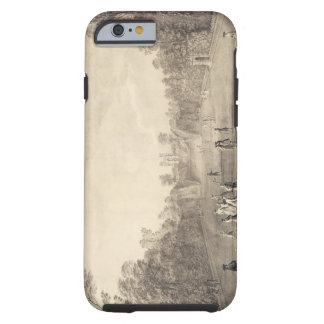 The Bowling Green at Claremont, 1738 (engraving) Tough iPhone 6 Case