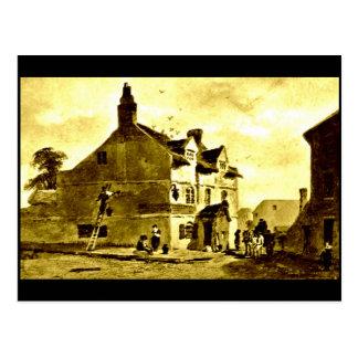 The Bowling-Green Inn, Liverpool, 1829 Postcard
