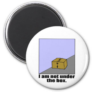 The Box 2 Inch Round Magnet