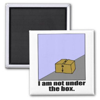 The Box 2 Inch Square Magnet
