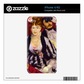 The Box by Pierre Renoir iPhone 4S Skins