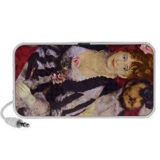 The Box by Pierre Renoir Laptop Speakers